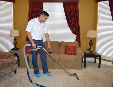 Carpet and hard surface cleaning